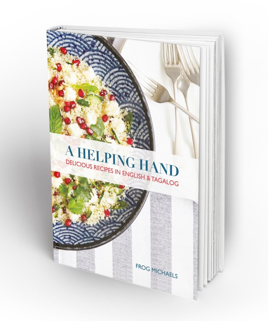 A Helping Hand Hardcover Book MockUp