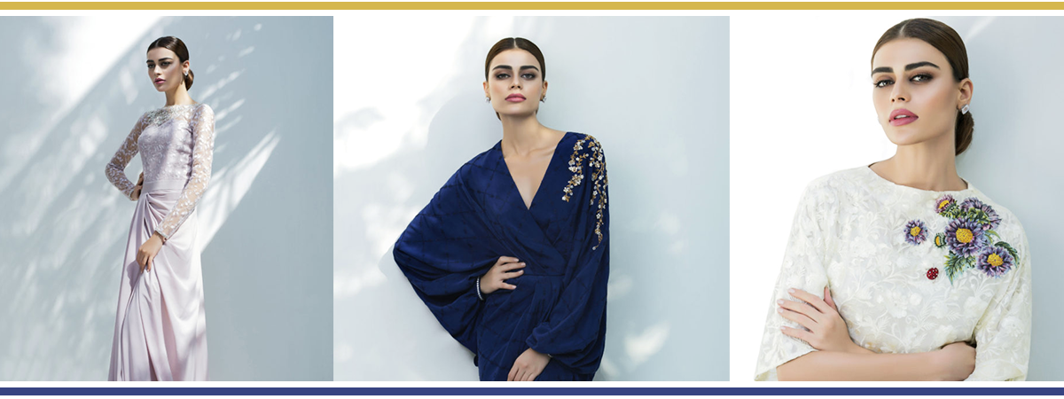 The Gardenia Eid Collection By Sania Maskatiya - Header