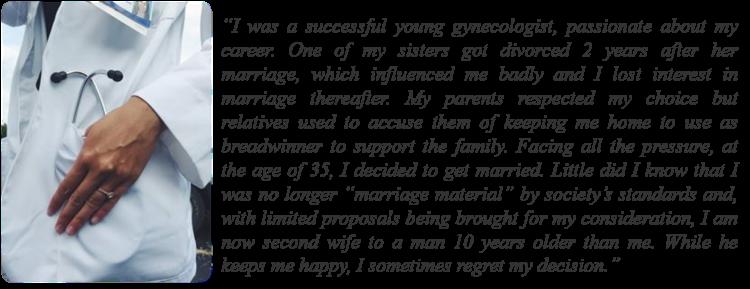 Marriage, Women