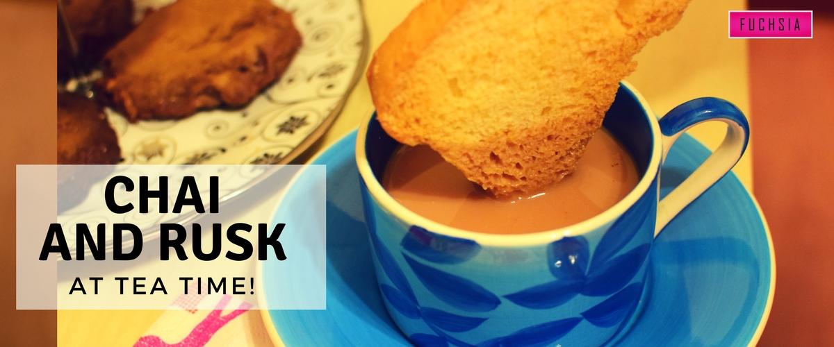 Chai, Rusk, Desi Tea Time, Tapal Chai