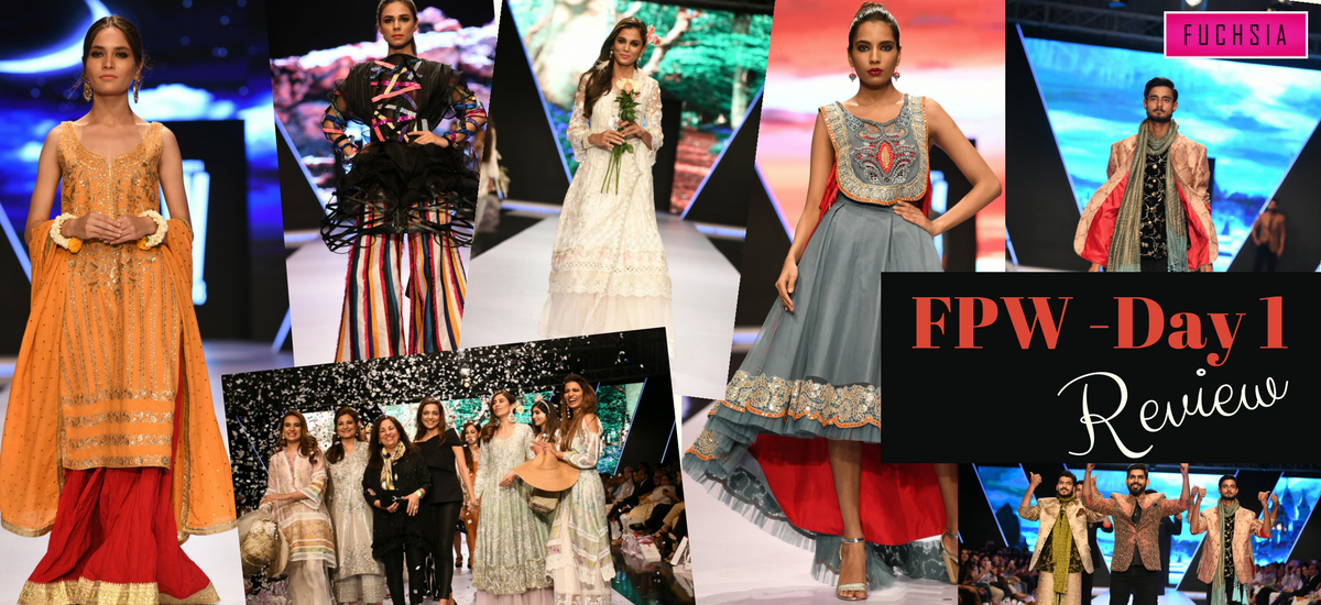 REVIEW OF FASHION WEEK PAKISTAN