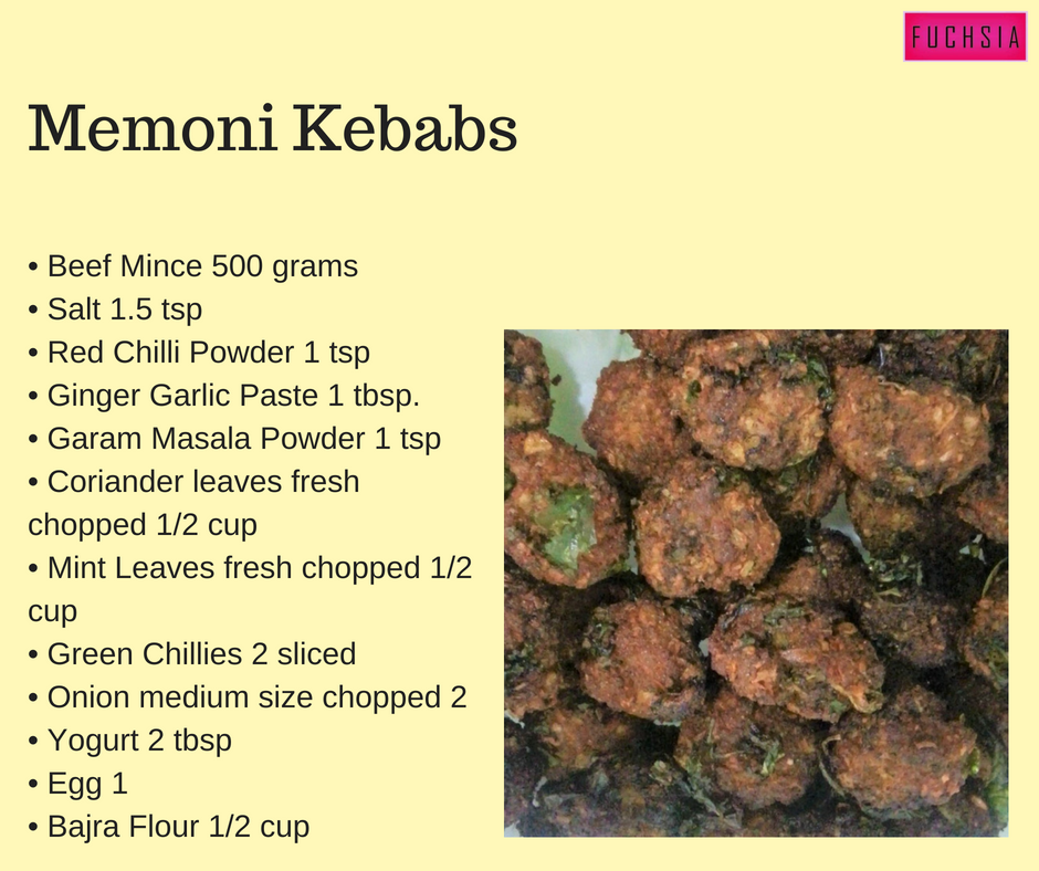 Memoni Kebabs, Ramazaan Recipes, Ramadan Recipes