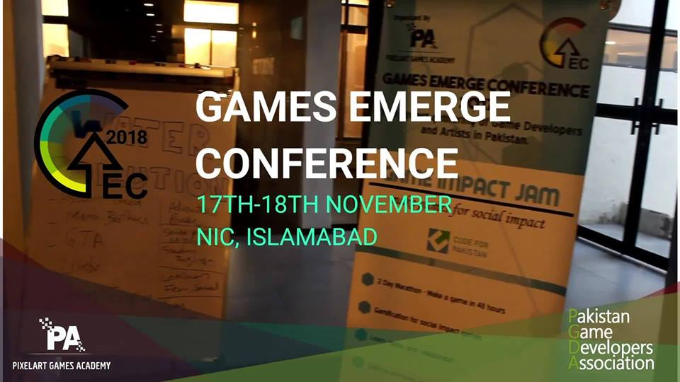 Event planner, GAMES EMERGENCE CONFERENCE