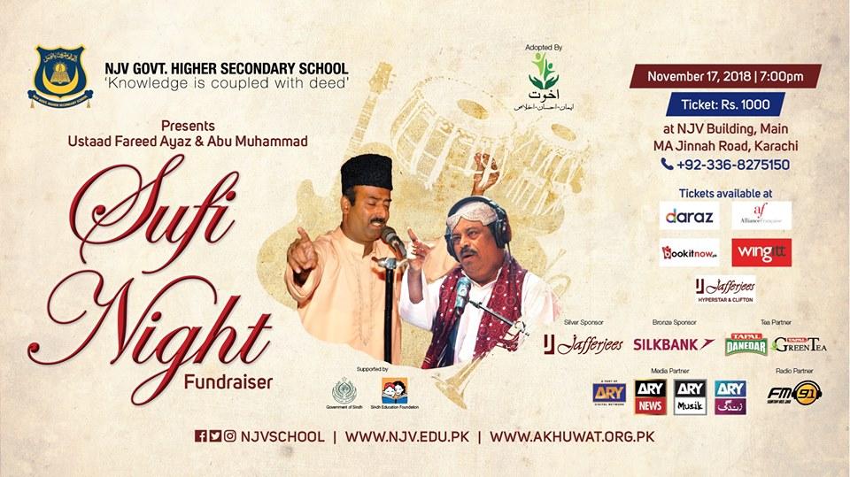 Event planner, Sufi Night Fundraiser