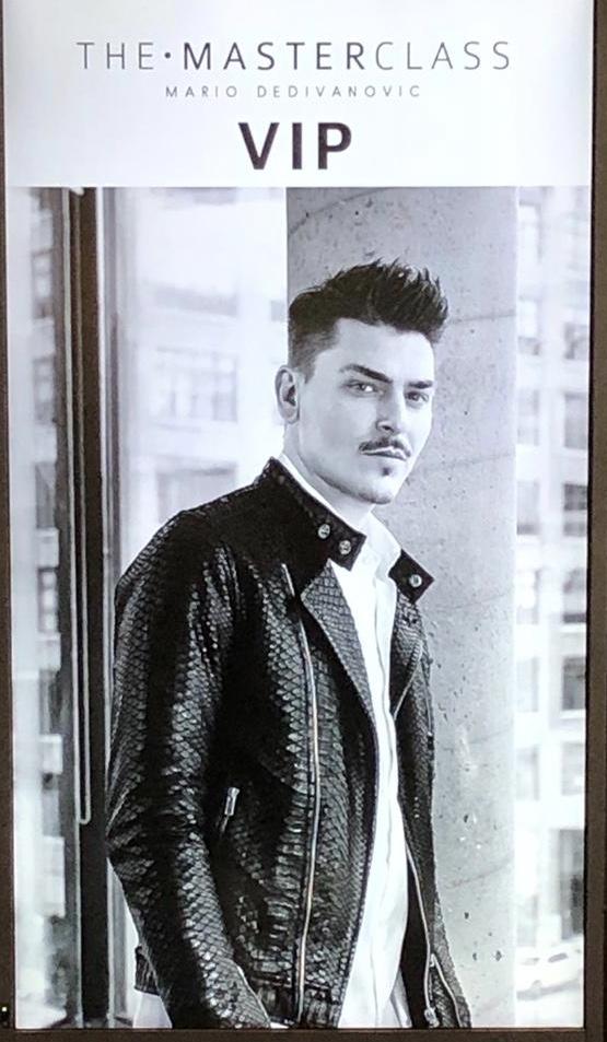 Mario Dedivanovic, Makeup masterclass