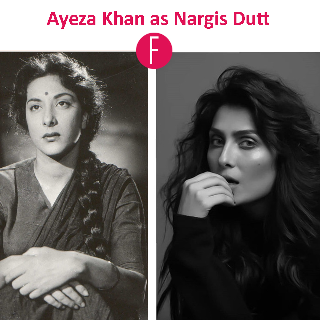 nargis dutt - ayeza khan