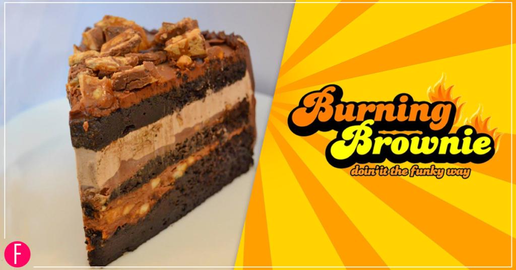 Burning Brownie