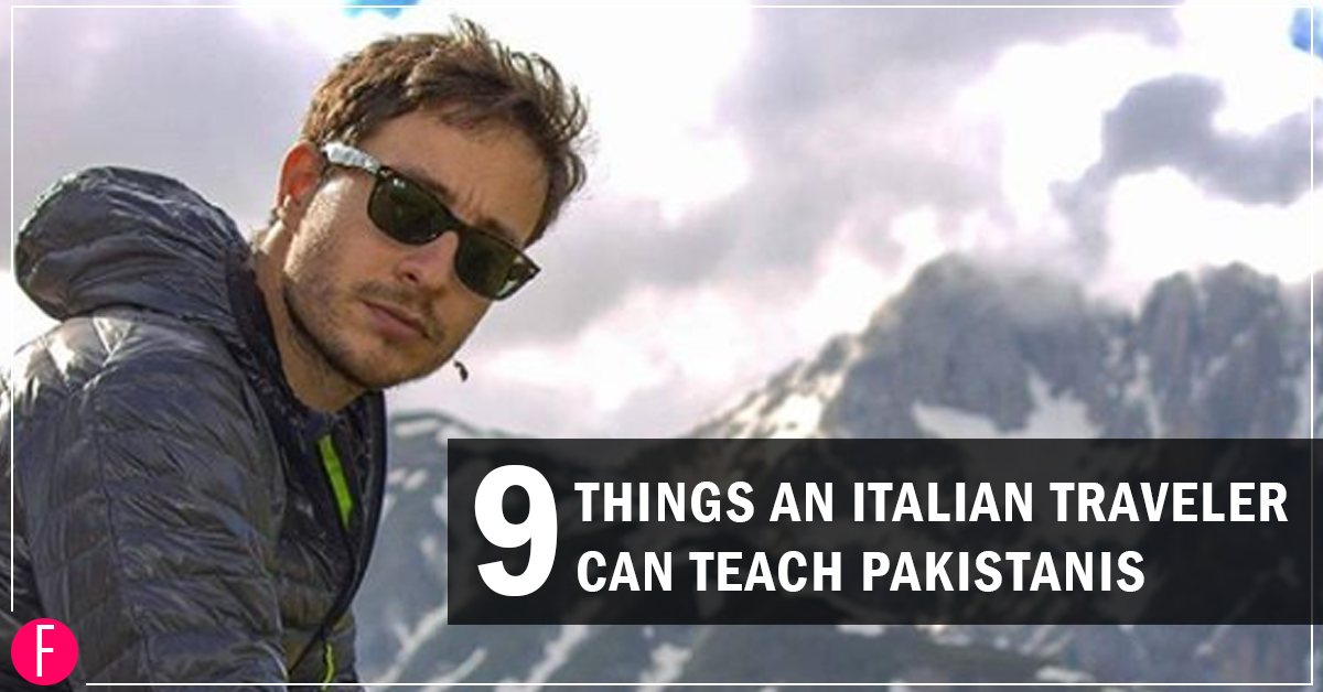 9 Things that Andrea Angelucci Can Teach Pakistanis
