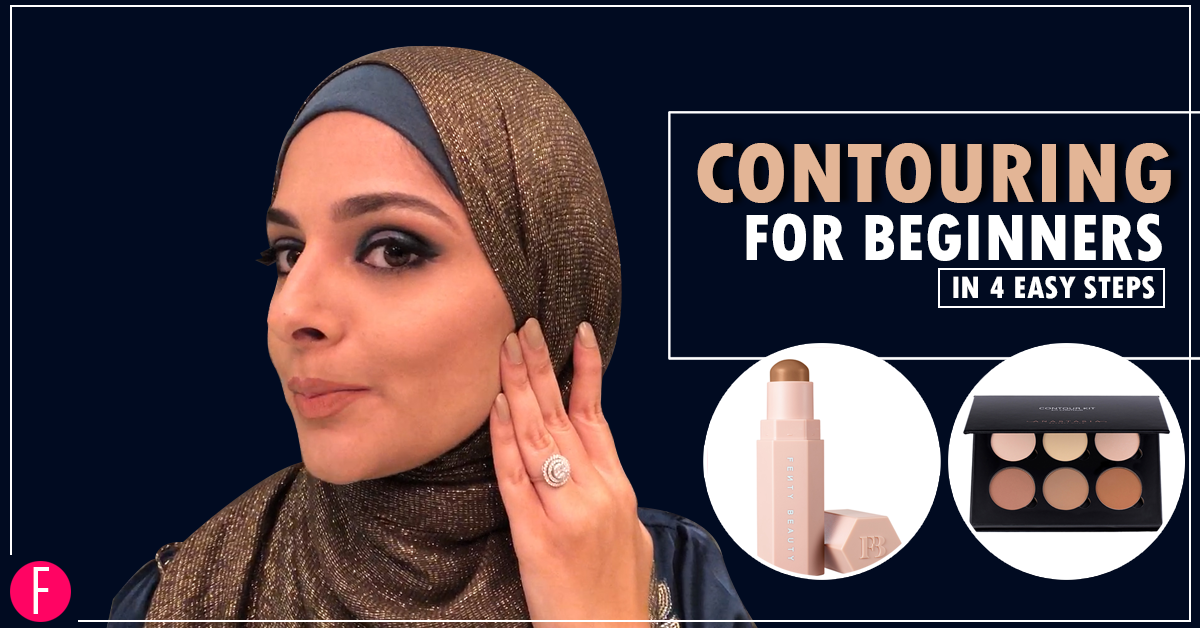 Contouring For Beginners In 4 Easy Steps!