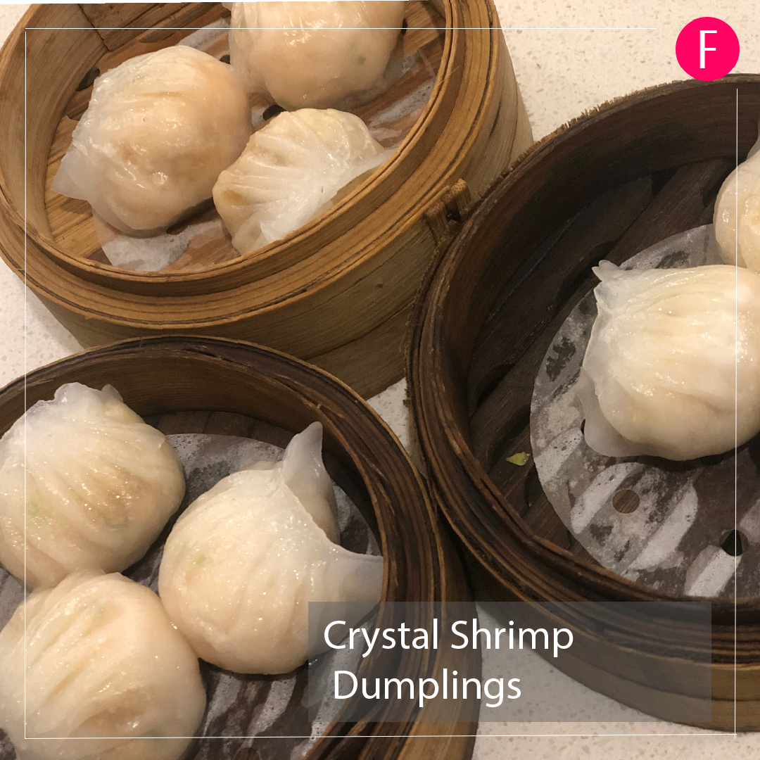 crystal shrimp dumplings, halal chinese, dim sum singapore