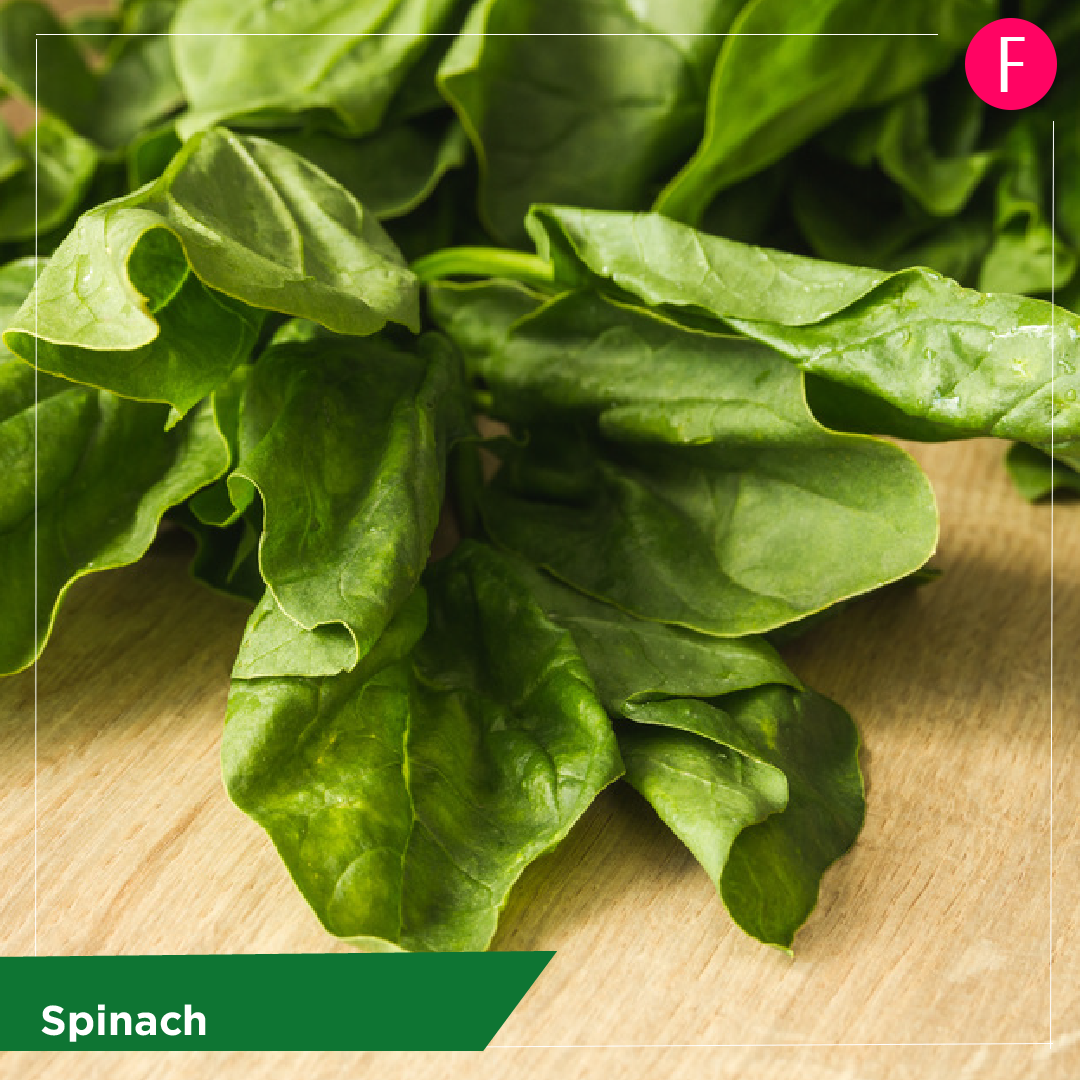 spinach, 5 everyday foods
