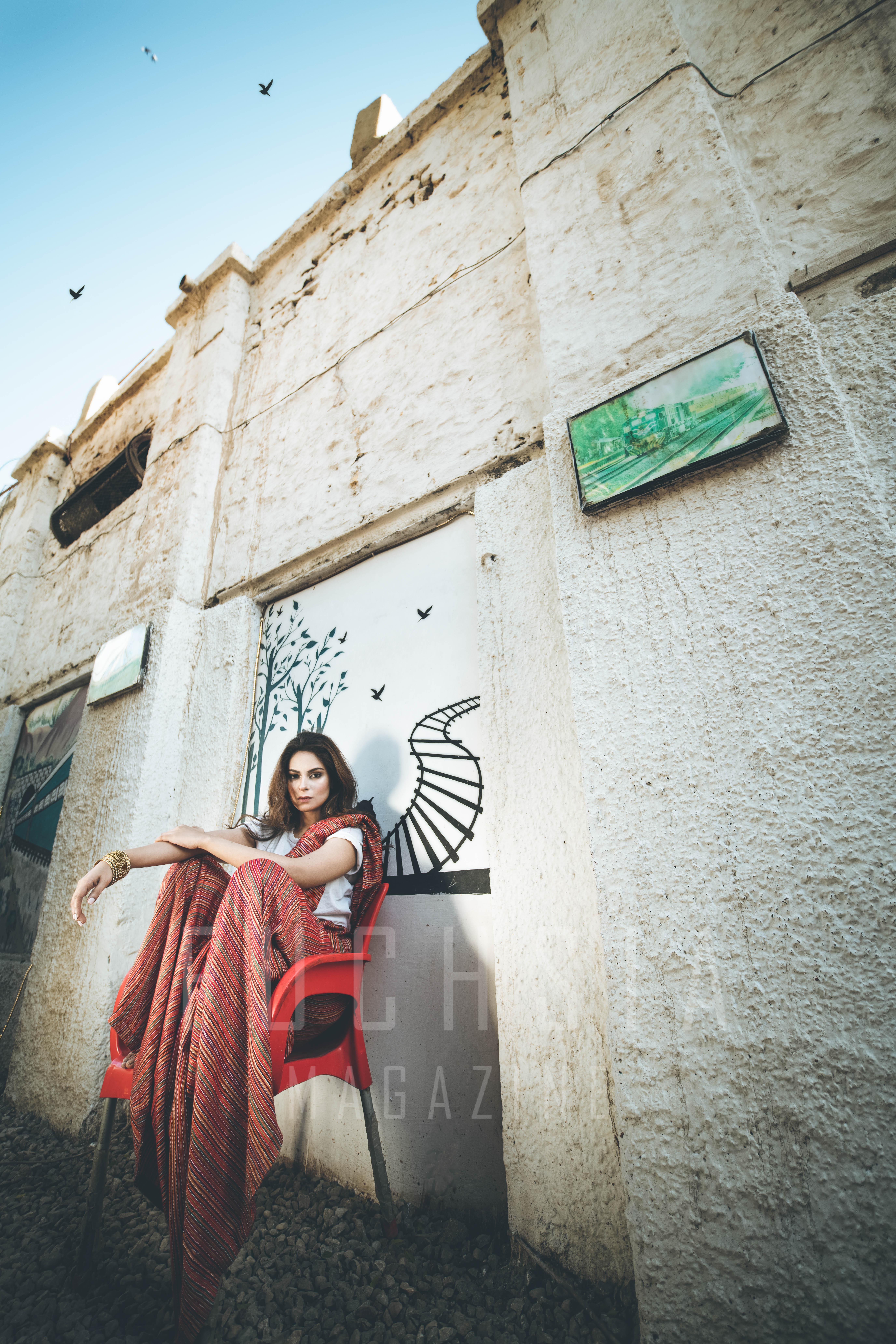 Ajrak, Pakistani Fashion