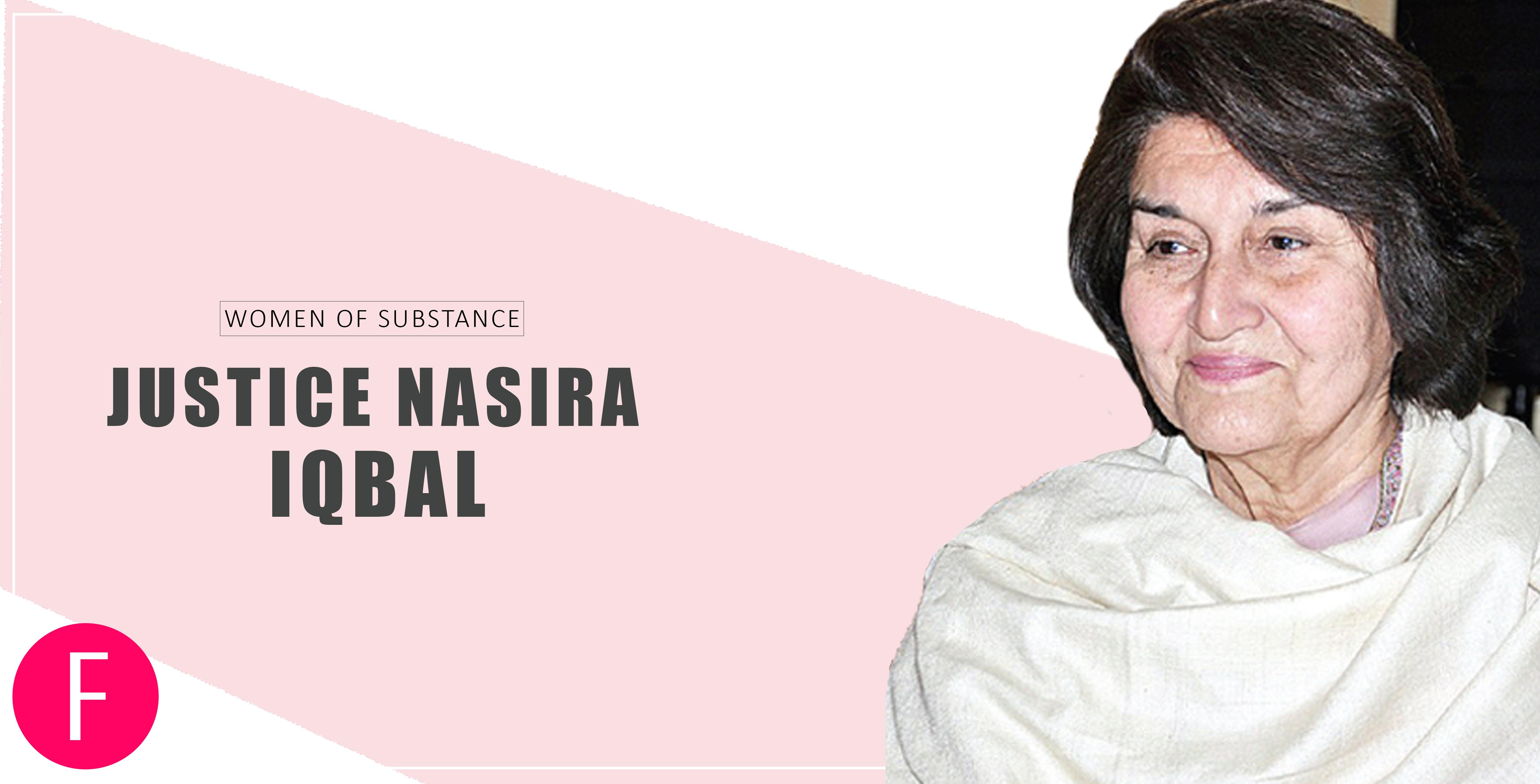 Justice Nasira Iqbal