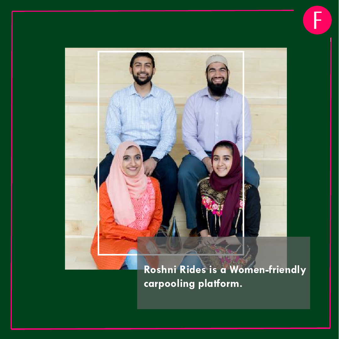 Forbes 30 under 30, Roshni Rides, Pakistanis listed in forbes
