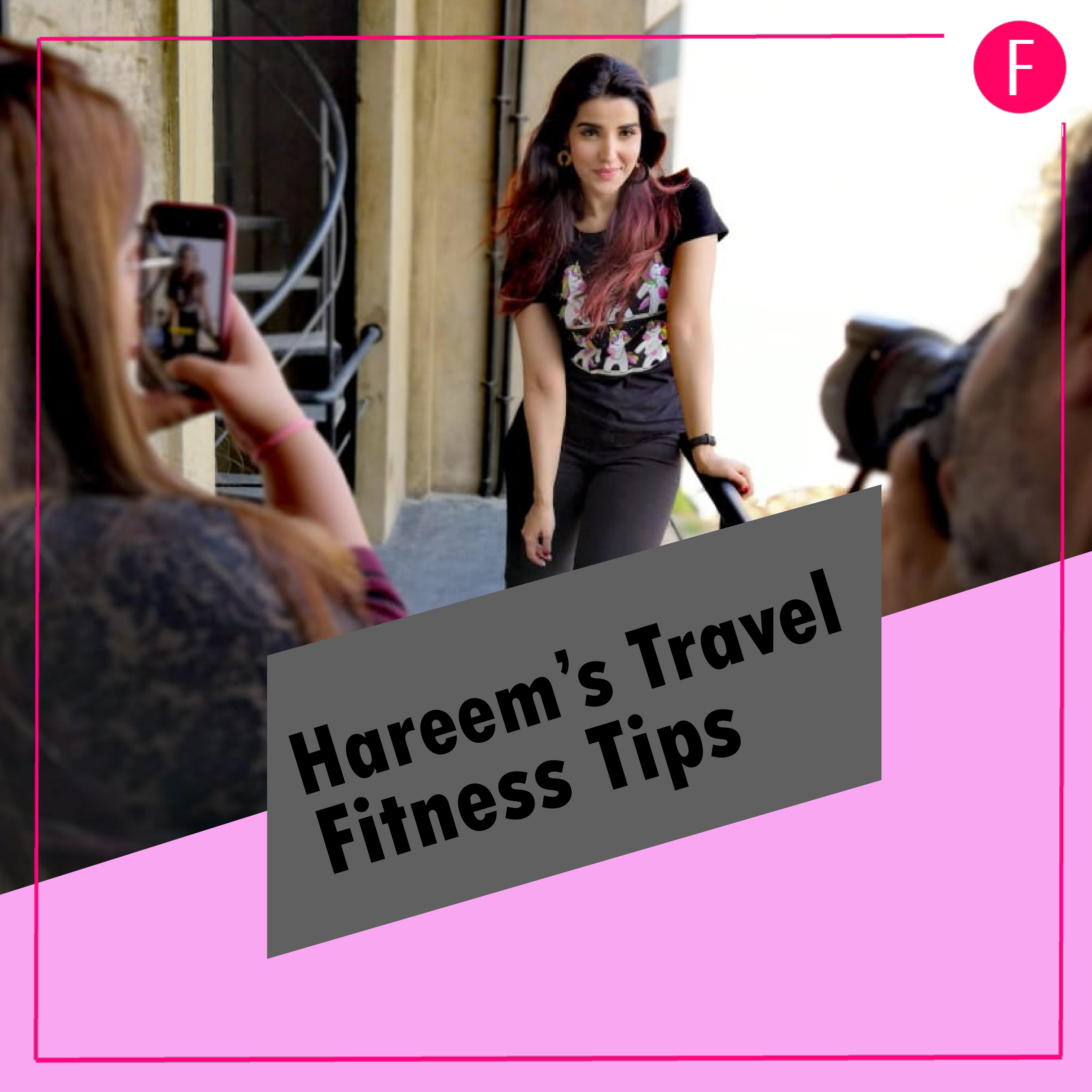 Hareem Farooq weightloss, Hareem farooq Fitness