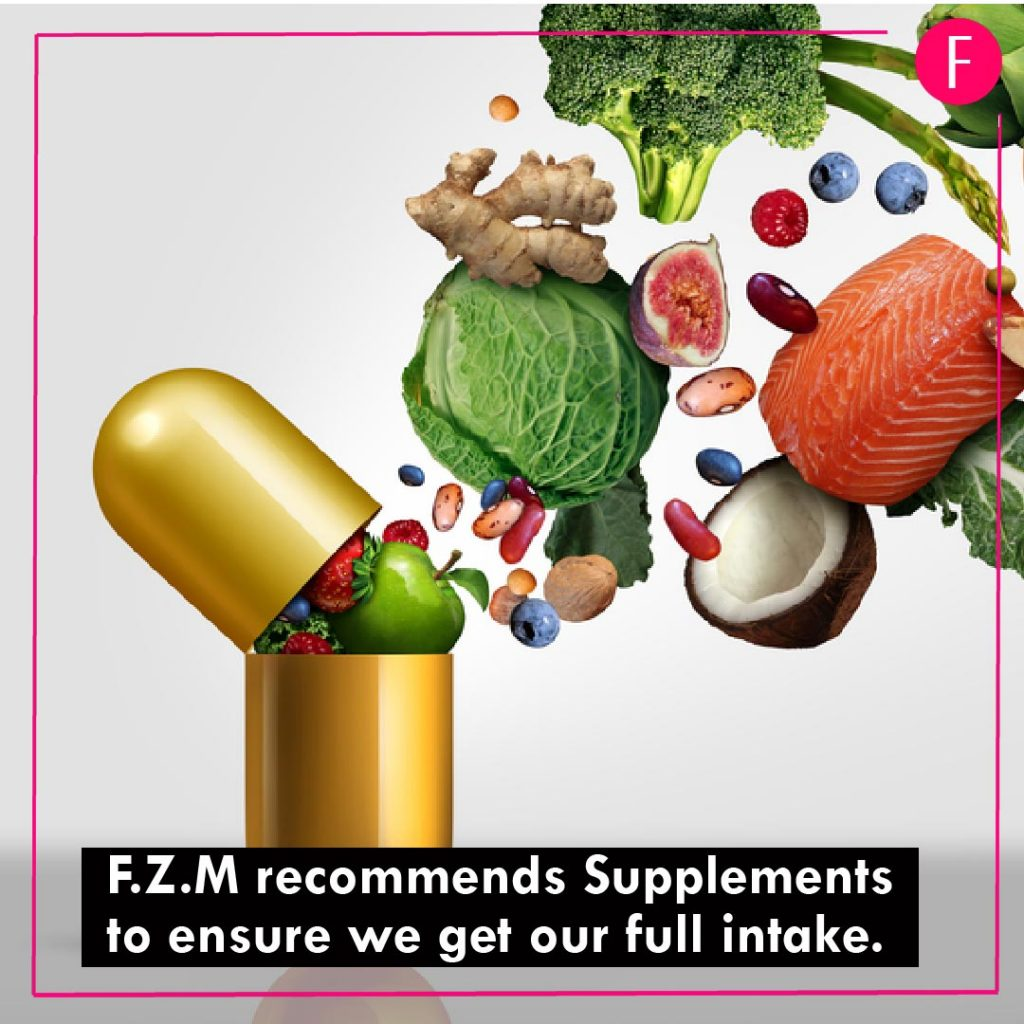 Ramzan 2019, F.Z.M, healthy living, be fit, Minerals and Vitamins.
