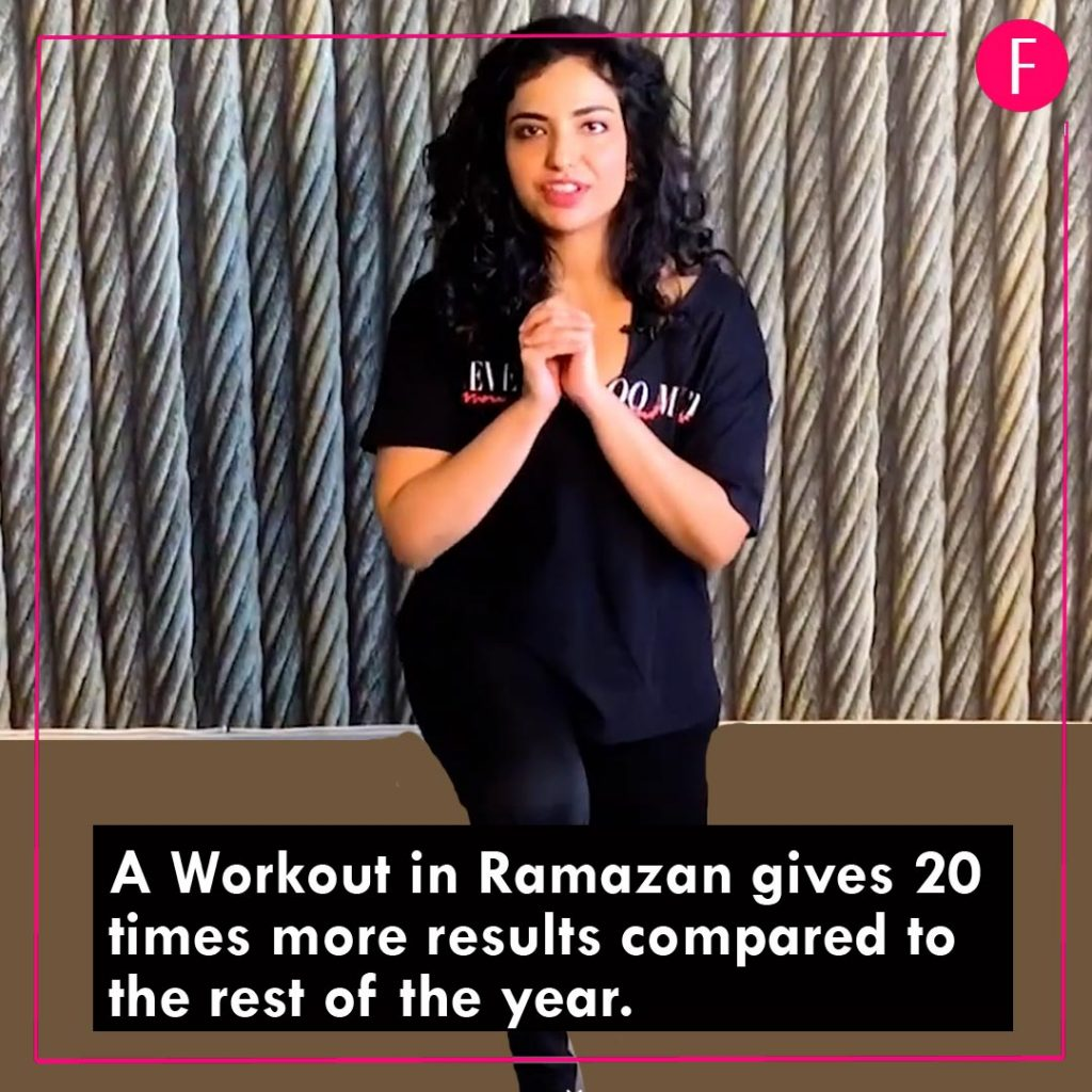 Ramazan 2019,F.Z.M, get your daily workout, Before Iftari, fitness tips.