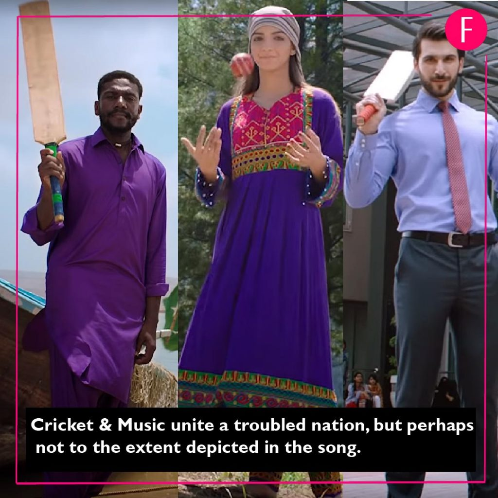 Junoon sings the 2019 Cricket World Cup song  Is it a six or