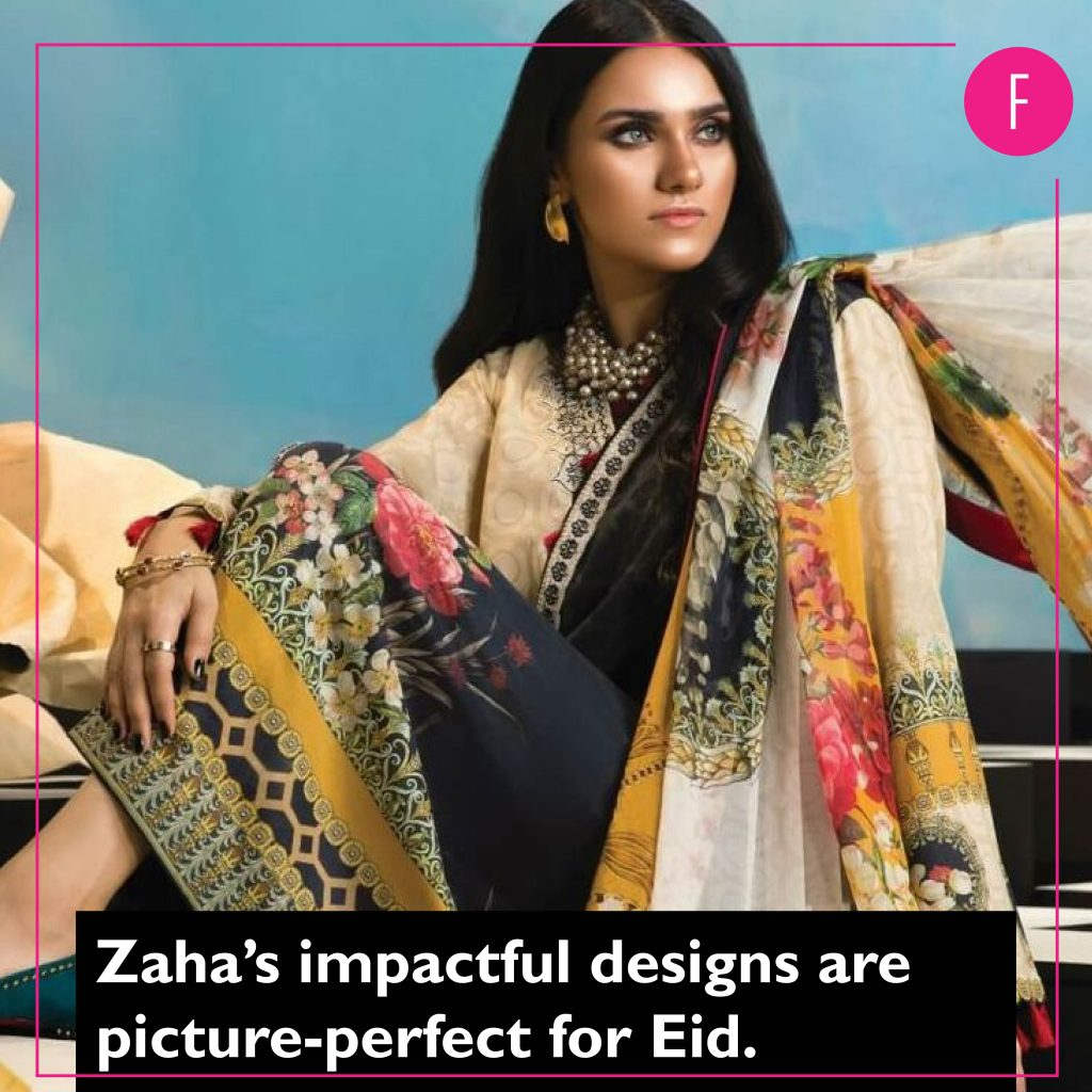 Zaha, Eid Clothes, Eid Collection 2019