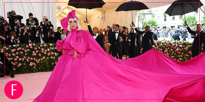 Lady Gaga, Red carpet look, Met Gala 2019