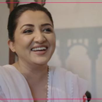 Nadia Afghan as Shahana in Suno Chanda