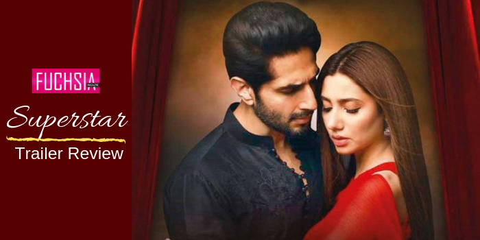 Bilal Ashraf and Mahira Khan in Superstar review