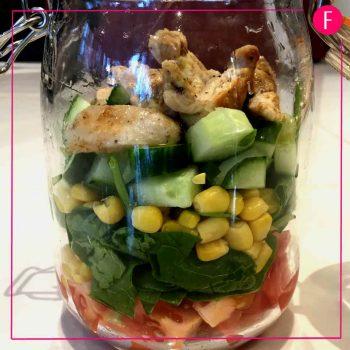 DIY chicken salad