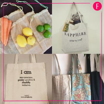 NOWPDP, eco-friendly bags, sapphire pakistan, the green bag project, imtiaz super market