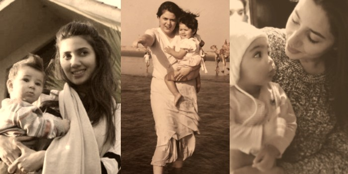 Desi moms, Mahira Khan with her son, Mahira Khan