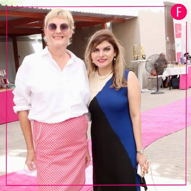 Brigit Nicole Kuhlmann from the German consulate & Tara Uzra Dawood