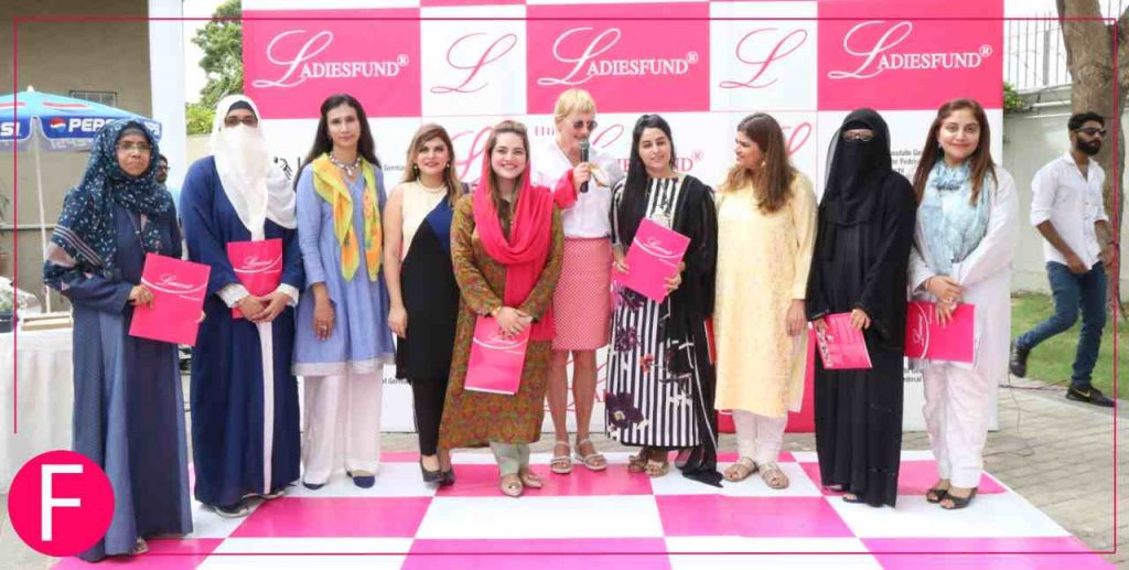 Entrepreneurs in the spotlight at LADIESFUND at the German consulate