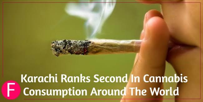 cannabis epidemic in Karachi
