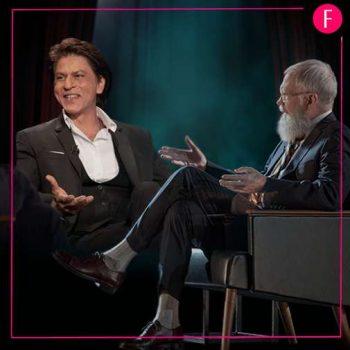 Shahrukh Khan, SRK, David Letterman, Netflix Show