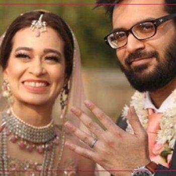Mahin & Wama at their zero waste wedding in Lahore