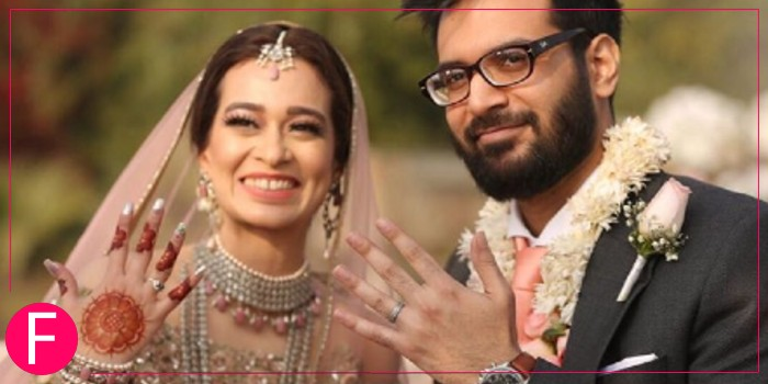 Mahin & Wama at their zero waste wedding in Lahore
