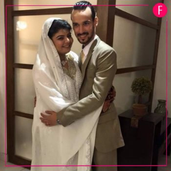 Aneela Sheikh Bhatti only invited 35 people to her wedding in Lahore