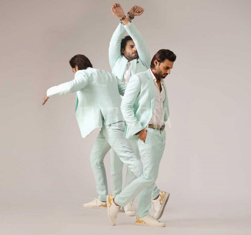 Pastel suits for men