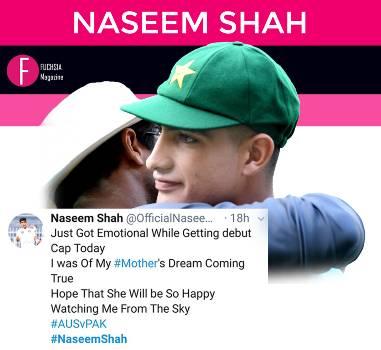 Naseem Shah, Cricket, Pakistan Cricket