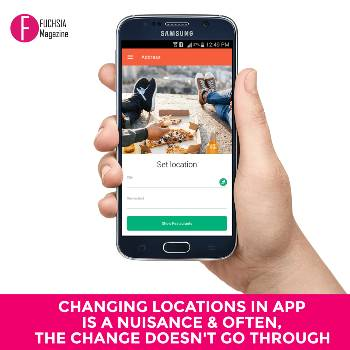 Foodpanda location, Foodpanda app, Foodpanda