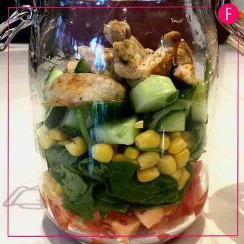 Foods in a jar, Chicken salad recipe