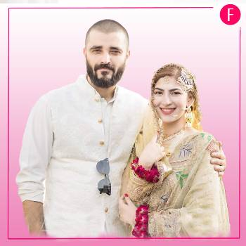 Hamza ali abbasi and Naimal Khawar, Winter weddings, wedding season