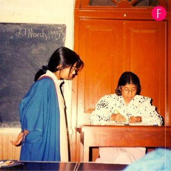 St. Joseph's convent school, classroom. teacher