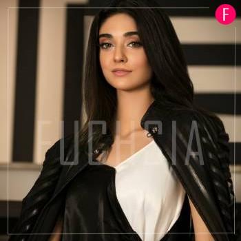 Neelo Allahwala, white and black dress, noor khan