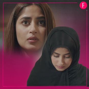 Sajal in Alif, Momina, Girl in black dupatta
