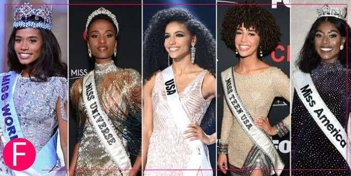 world beauty pageant, african women
