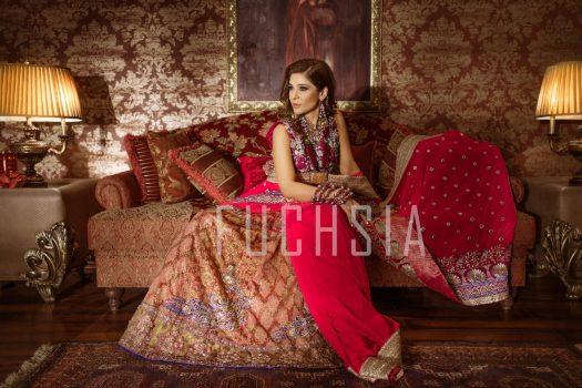 Ayesha Omar, pink dress