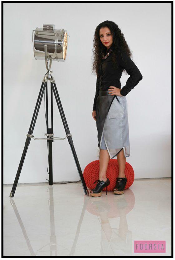 dressy boots,  skirt, basic black