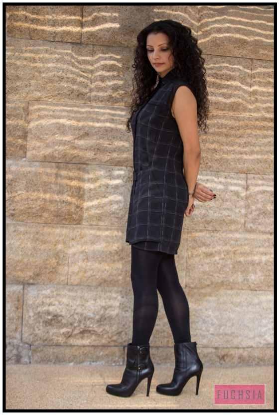 stylish, black boots