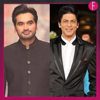 SRK, Humayun Saeed, 2 men in a suit