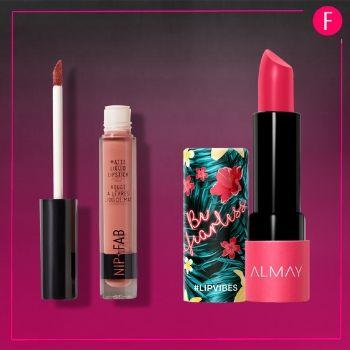 lip gloss, lipstick